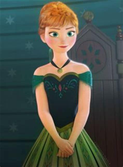 film frozen green 1000 images about frozen anna coronation green dress