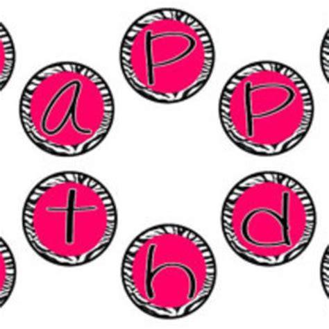 hello birthday banner template free best zebra print birthday products on wanelo