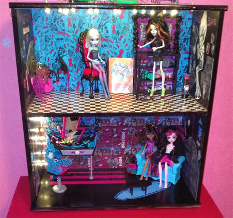 monster high dolls house tour monster high house tour www imgkid com the image kid has it