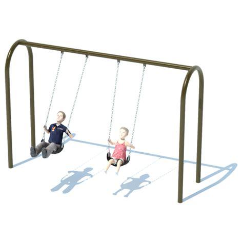 swing loans 1 bay 8 arch 3 5 quot swing frame swing sets