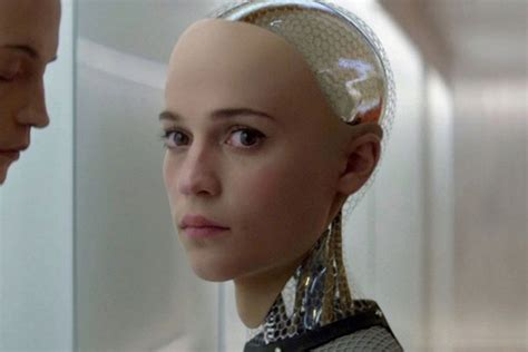 director of ex machina alicia vikander on the her first trip to l a and the