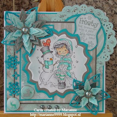 Marriane Frosty cards created by marianne frosty the snowman was a jolly happy soul