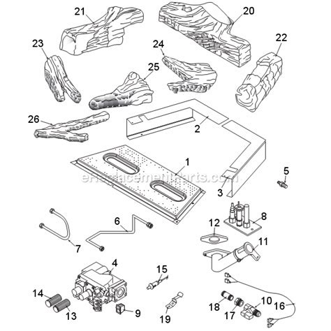 majestic 490idv parts list and diagram series idv
