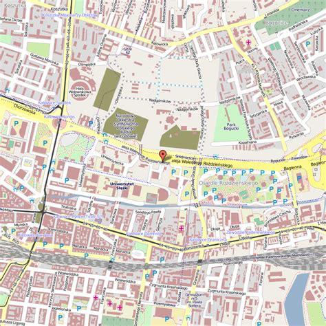 katowice map katowice map travelsfinders