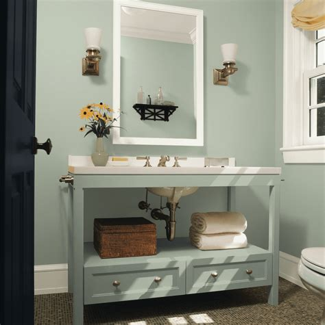 What Is A Color To Paint A Small Bathroom by See The Top Paint Colors For Small Spaces