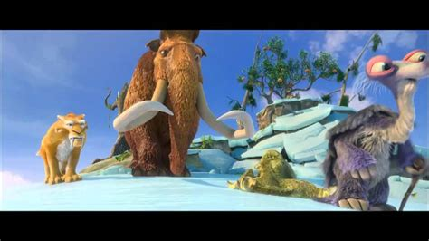 ice age r city ice age 4 continental drift first bath in decades clip