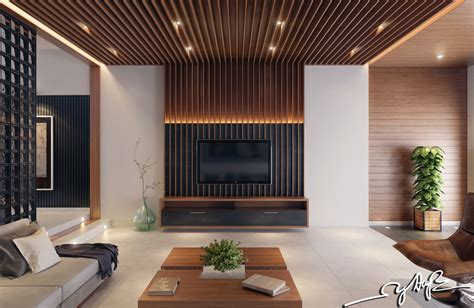 Wood Interior Design | interior design close to nature rich wood themes and indoor vertical gardens