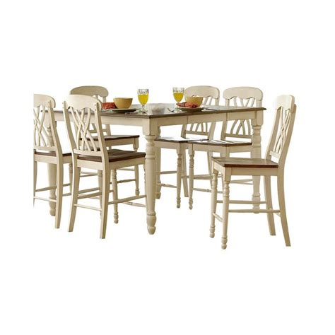 Ohana Dining Table Trent Home Ohana Counter Height Dining Table In White 1393w 36