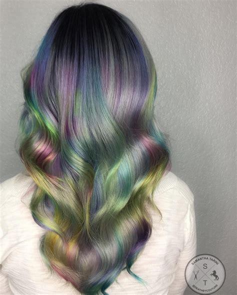 hologram colors holographic hair color hair colors ideas