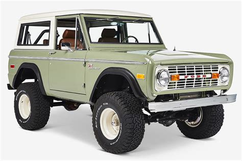 2020 Ford Bronco Unveiling by 1972 Ford Bronco Silicon Valley By Cfb Hiconsumption
