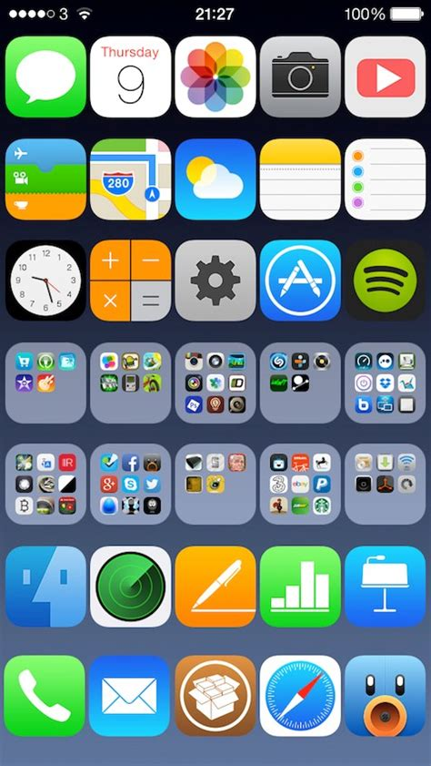 mudar layout iphone 5s image gallery iphone apps layout