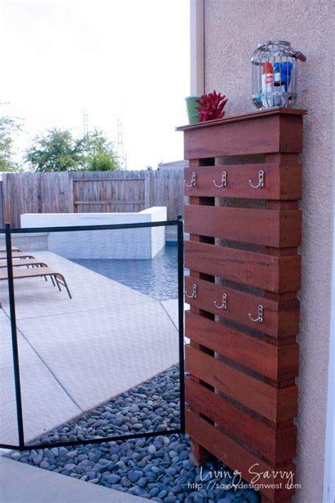 best 25 outdoor towel racks ideas on pvc