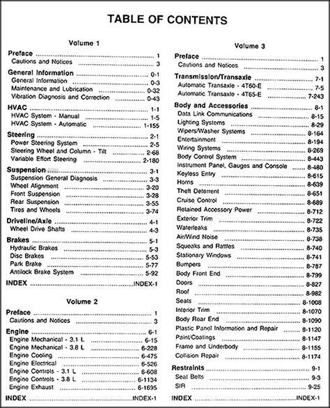 online service manuals 1962 pontiac grand prix parental controls 1999 pontiac grand prix repair shop manual original set