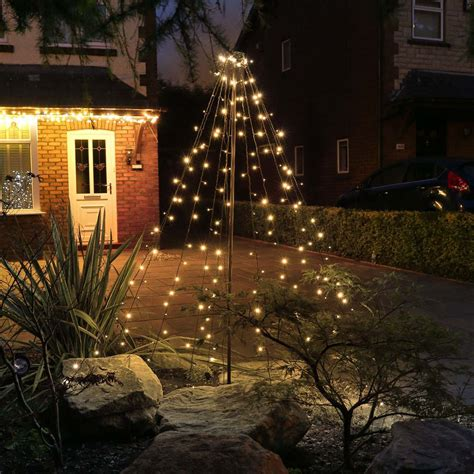 reviews on outdoor battery christmas lights 2m outdoor battery teepee tree 200 leds