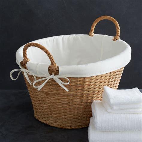 laundry basket liner reviews crate  barrel