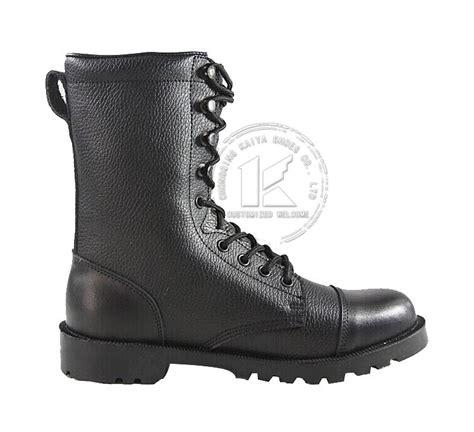 black leather boots excellent paratrooper