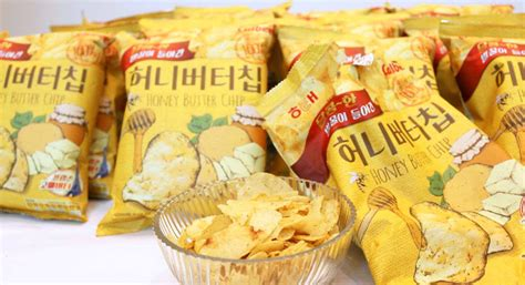 Honey Butter Chips korea s viral honey butter chips are now sold in toronto