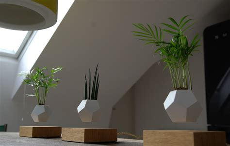 Home Design Story Weekly Update by New Magnetized Planters Allow Your Garden To Levitate In