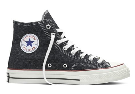 Convers Allstar Premium concepts brings premium denim to the converse chuck all sneakernews