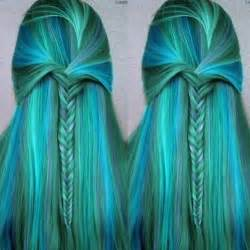 mermaid hair color style hair mermaid and