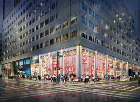uniqlo midtown east new york ny re imagining urban retail arrowstreet