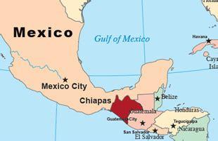 map of mexico chiapas chiapas mexico map my