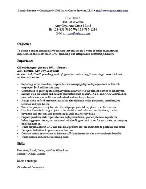 Licensed Vocational Resume Objective Best 25 Career Objectives Sles Ideas On Objective For Resume Sle Of