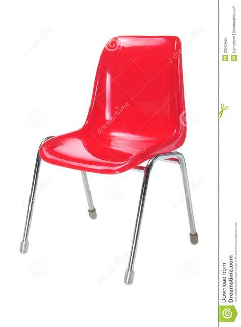 roter stuhl roter stuhl lizenzfreie stockfotografie bild 20520997