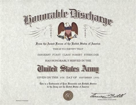 sle of dd214 honorable discharge lapel hat vest pin up usa us army