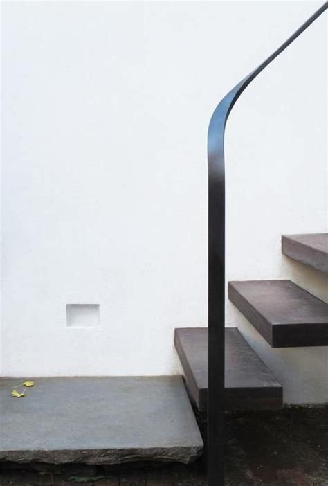 Stair King by Handrail Stair Julian King Architects Via Japanese