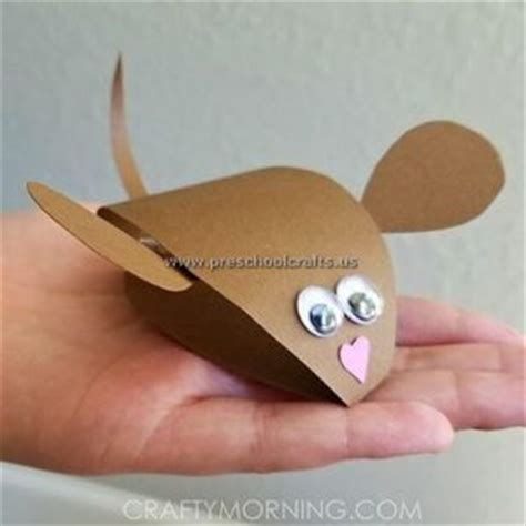 mouse craft mouse crafts ideas for kindergarten preschool and