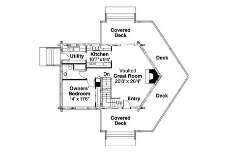 a frame floor plans a frame house plans stillwater 30 399 associated designs