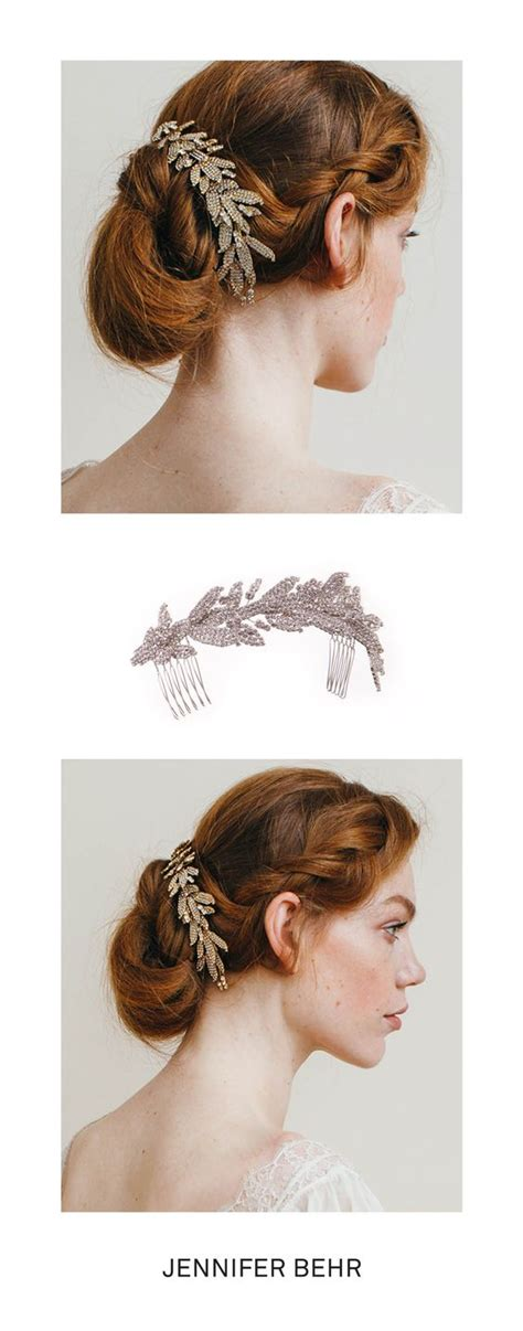 how to wrap wedding hair the arielle chignon wrap by jennifer behr the perfect