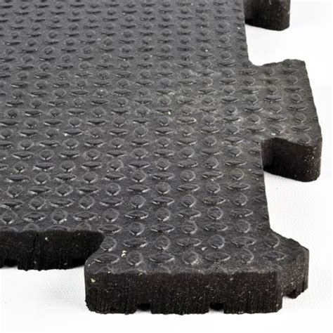 Interlocking Horse Stall Mats   Rubber Equine Mat