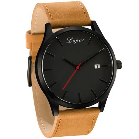 2017 lvpai fashion casual mens watches top brand luxury