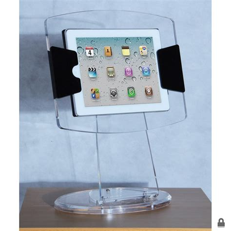 acrylic ipad stand clear acrylic ipad display case stand