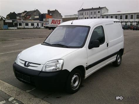 peugeot partner 2007 2007 peugeot partner 170 hdi 90 comfort c car photo and