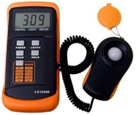 Alat Uji Dan Ukur Cahaya Meter Lx 101 alat ukur intensitas cahaya lx1330b cv jmm