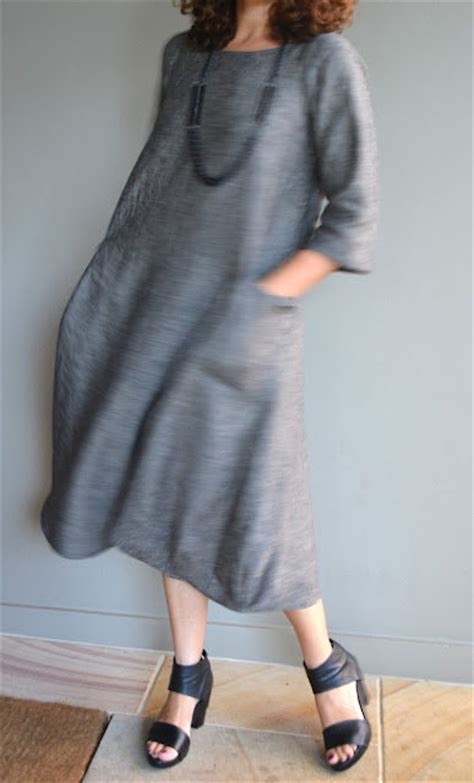 pattern for simple linen dress lily linen dress pattern sewing projects burdastyle com