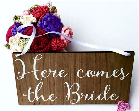 Wedding Banner Here Comes The by Here Comes The Sign Wedding Sign Wedding Banner