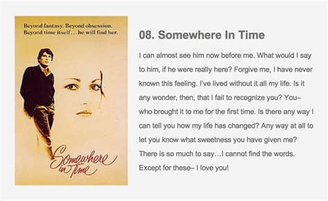 quotes film in time somewhere in time movie quotes quotesgram