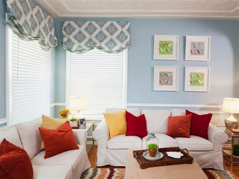 Yellow Blue And Orange Living Room Photo Page Hgtv