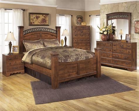 signature design  ashley timberline king bedroom group