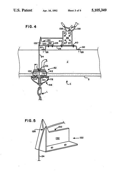 Motorized Chandelier Lift System Patent Us5105349 Motorized Chandelier Lift System Patents