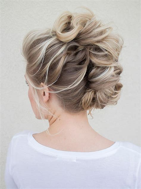 how to do a partial faux hawk for women bridal faux hawk for the edgy bride mohawks hair makeup