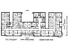 Waldorf Astoria New York Floor Plan by Waldorf Astoria New York 1893