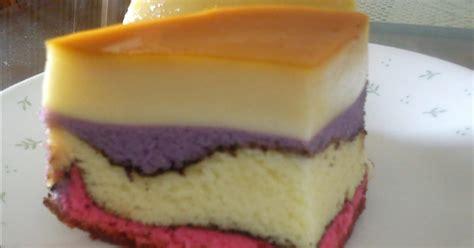 menu kek puding karamel