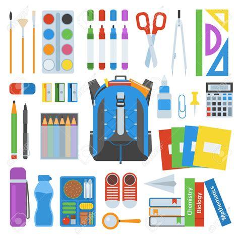 imagenes de niños y utiles escolares bolsa para la escuela mochila llena de 250 tiles escolares