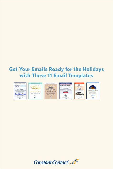 111 Best Email Templates From Constant Contact Images On Pinterest Email Templates Holiday How To Save A Template In Constant Contact