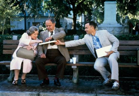 forrest gump park bench scene 12 different ways to enjoy chocolate from the movies bfi